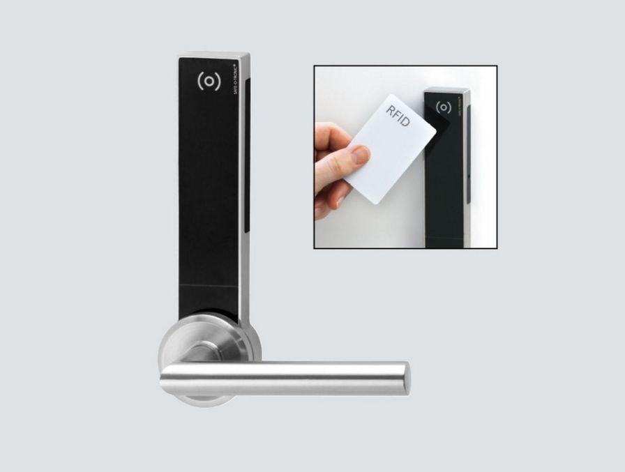 Dörrlås med RFID Mifare och NFC